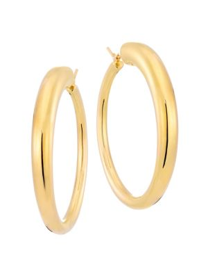 Millennia 18K Gold Graduated Hoop Earrings