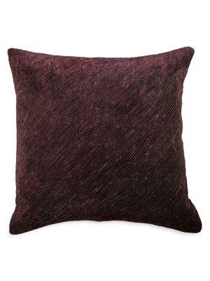 Sumac Contrast Dori Velvet Cushion