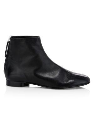 3.1 PHILLIP LIM   Nadia Leather Glove Booties   Goxip
