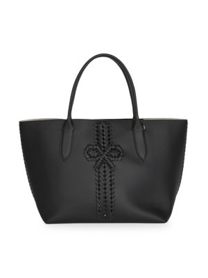 ANYA HINDMARCH | The Neeson Leather Shopper Tote | Goxip