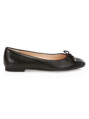 STUART WEITZMAN | Gabby Leather Flats | Goxip