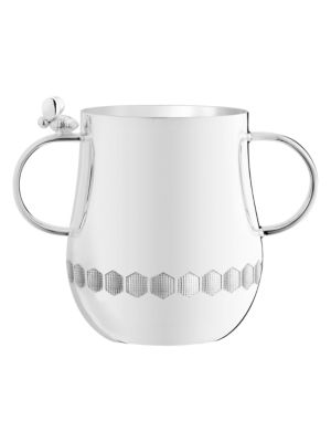 Beebee 2-Handle Silverplate Baby Cup