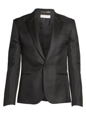 Slim-Fit Wool-Mohair Sport Jacket