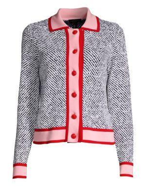 Segrad Striped Virgin Wool Cardigan