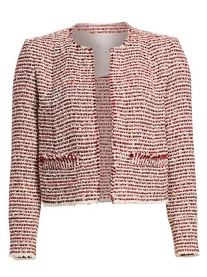 Riona Cropped Tweed Jacket