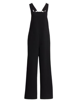 THE ROW | Margaret Stretch Wool Overalls | Goxip