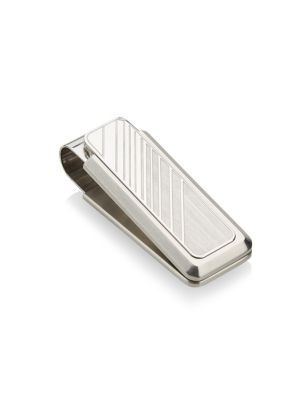 COLLECTION Gradient Stainless Steel Money Clip