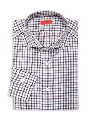 Slim-Fit Checker Sportshirt