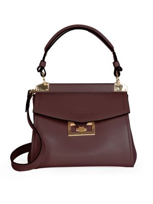 Small Mystic Leather Top Handle Bag