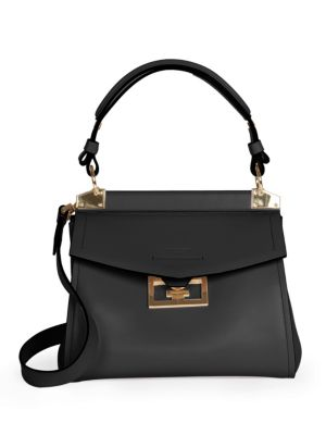 GIVENCHY | Medium Mystic Leather Top Handle Bag | Goxip