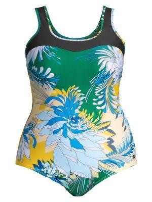 Sport 2 Sagoma Floral One-Piece Swimsuit