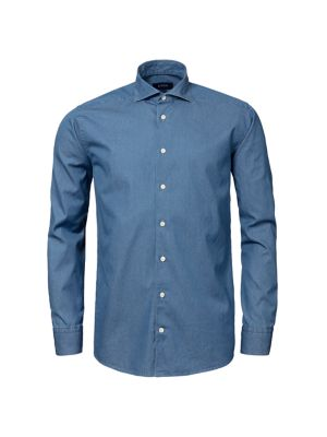 Contemporary-Fit Chambray Soft Shirt