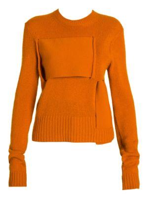 BOTTEGA VENETA | Cashmere Blend Interwoven Sweater | Goxip