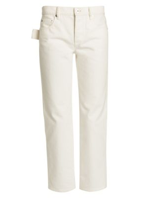 Classic Mid-Rise Straight Jeans