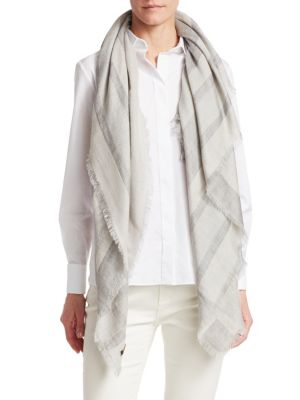 Carre Cashmere Silk Scarf