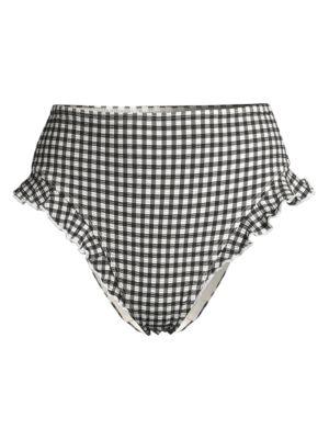 Lana Gingham Bikini Bottom