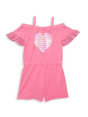 Little Girl's Heart Romper