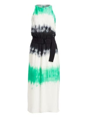 Tallulah Tie-Dye Silk Maxi Dress
