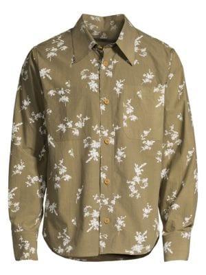 Floral Print Sport Shirt