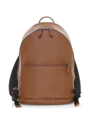 Metropolitan Pebbled Leather Backpack