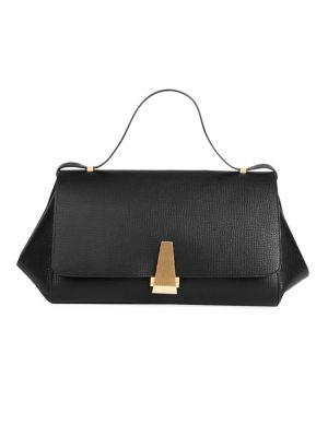 BV Angle Leather Shoulder Bag