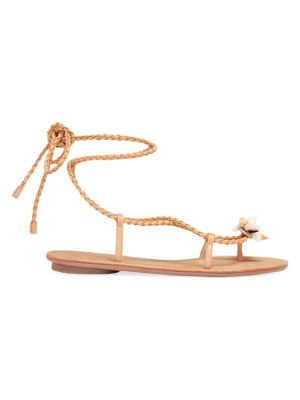 Shelly Wrap Leather Sandals