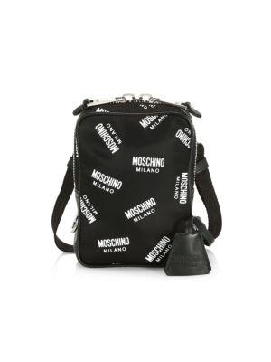 Allover Logo Shoulder Bag