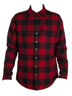 Checker Wool Shirt