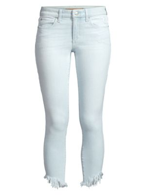 The Icon Mid-Rise Crop Skinny Jeans