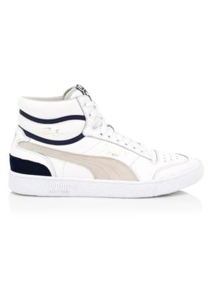 Ralph Sampson Leather High-Top Sneakers