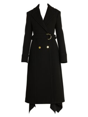 Wool Felt Trench Coat