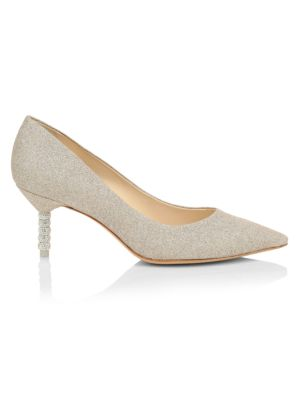 SOPHIA WEBSTER | Coco Crystal Mid Pumps | Goxip