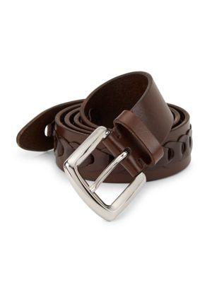 Link Leather Belt