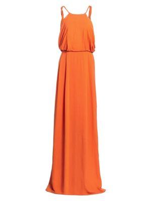 Token Crepe Gown