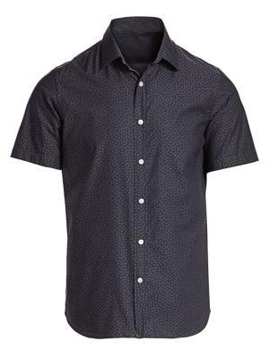 Mini Floral Short-Sleeve Shirt