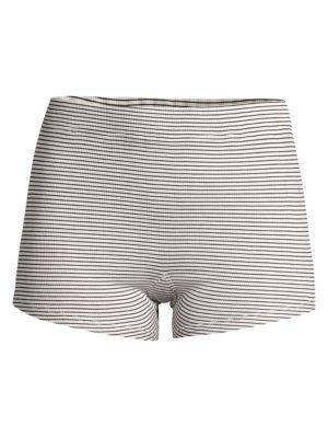 Poppy Striped Sleep Shorts