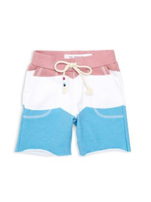 Little Boy's & Boy's SOL Flag Saddle Shorts