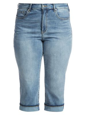 Marilyn Straight Crop Cuff Jeans