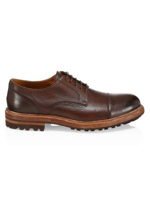 Cap Toe Leather Oxfords