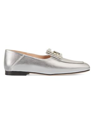 GUCCI   Madelyn Square G Loafers   Goxip