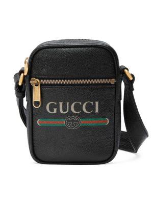 Small Gucci Print Crossbody Bag