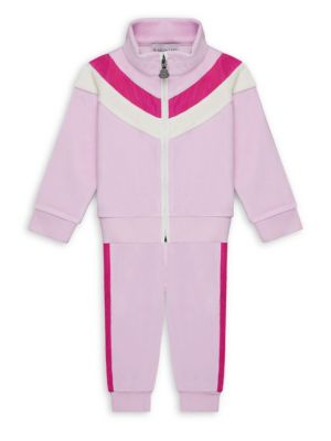 Baby's & Little Girl's Maglia Cardigan & Pants Set