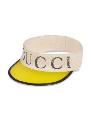 Gucci Wrap Visor