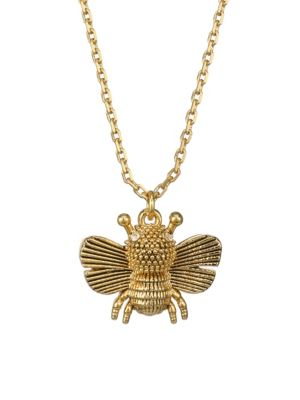 All Abuzz Bee Mini Pendant Necklace