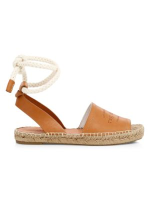 RAG & BONE | Estelle Leather Espadrille Slingback Sandals | Goxip