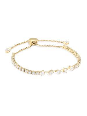 Gold-Plated Silver & Cubic Zirconia Tivoli Bracelet