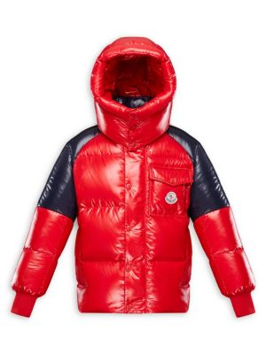 Little Boy's & Boy's Sigean Hooded Puffer Jacket