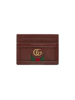 GUCCI | Ophidia Leather Card Case | Goxip
