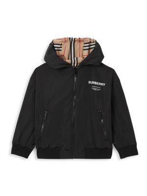 Little Boy's & Boy's Tommy Icon Reversible Jacket