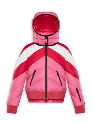 Little Girl's & Girl's Charix Colorblock Technical Puffer Jacket